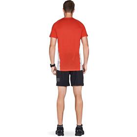 Mons Royale M's Temple Raglan Tech T-Shirt Bright Red/Grey Marl
